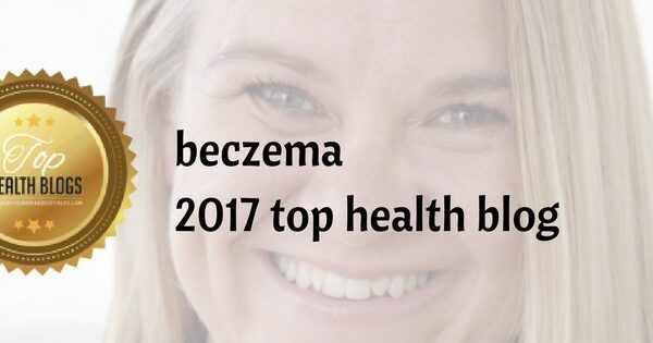 beczema  2017 top health blog